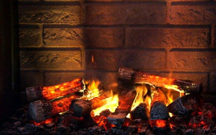Имитация огня в камине своими руками фото - Дом из кирпича своими