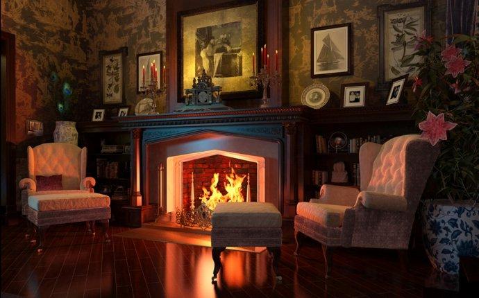 комната с камином в квартире фото | Камины