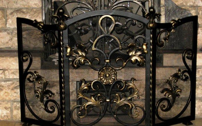 Кованые каминные принадлежности и решетки для камина на заказ в