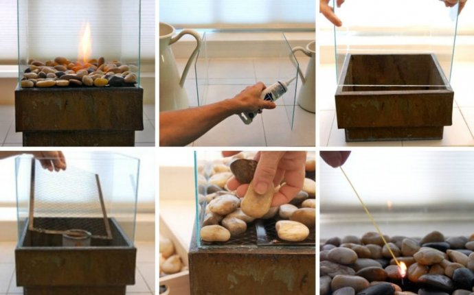 Мини камин своими руками - Как выложить камин своими руками