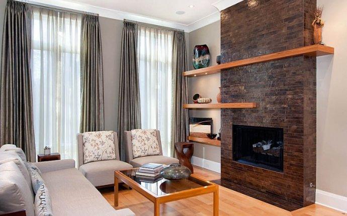 настенные камины электрические в интерьере гостиной фото | Камины