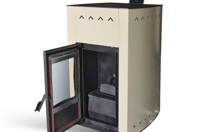 Пеллетный котел-камин Termal-10 кВт AQUA - пеллетные котлы Termal